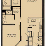 Chesapeake: 2x2; 1,174 square feet