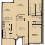 Waverly: 3x2; 1,524 square feet